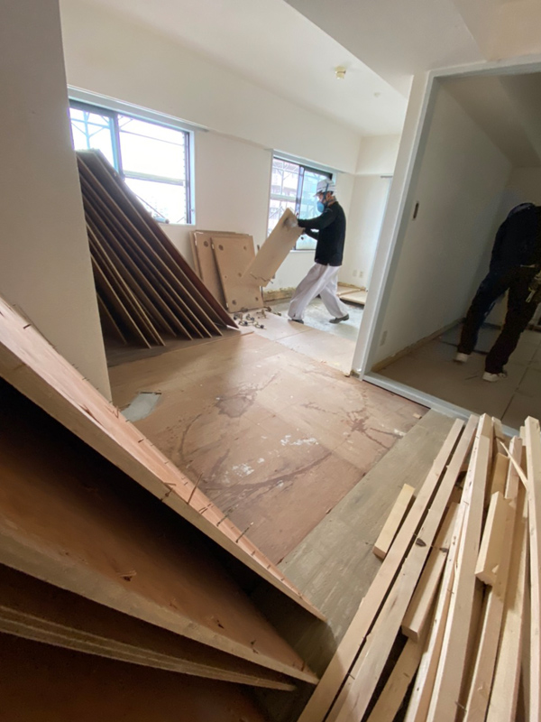 一般住宅の内装解体 その4