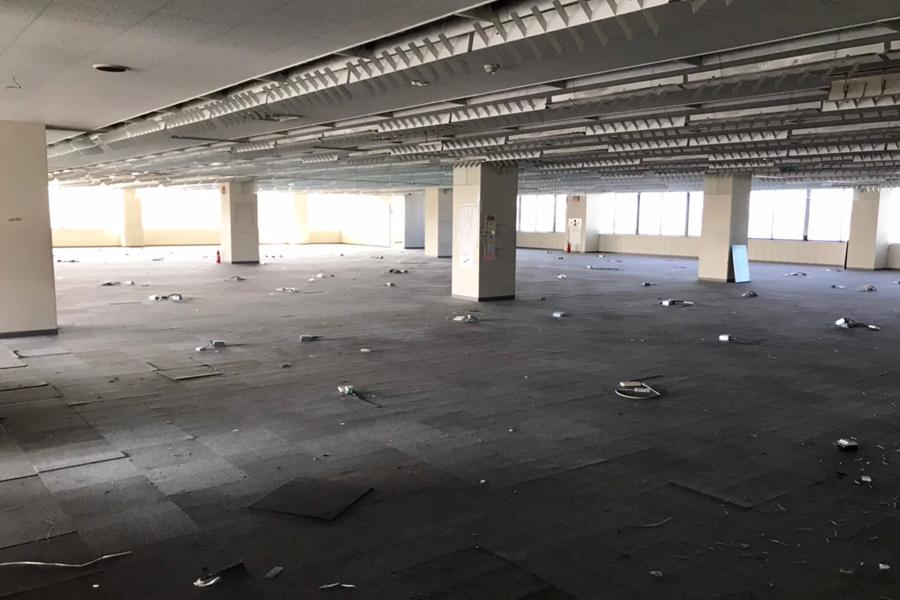 オフィスの内装解体工事 その2