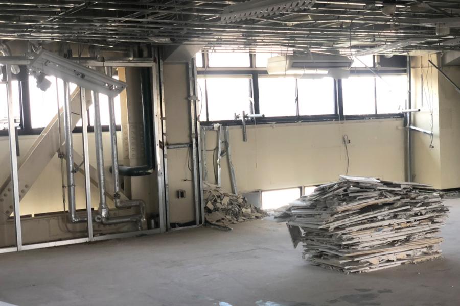 工場の内装解体工事 その4