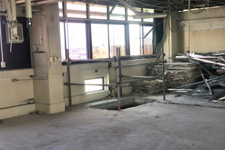 工場の内装解体工事 その5